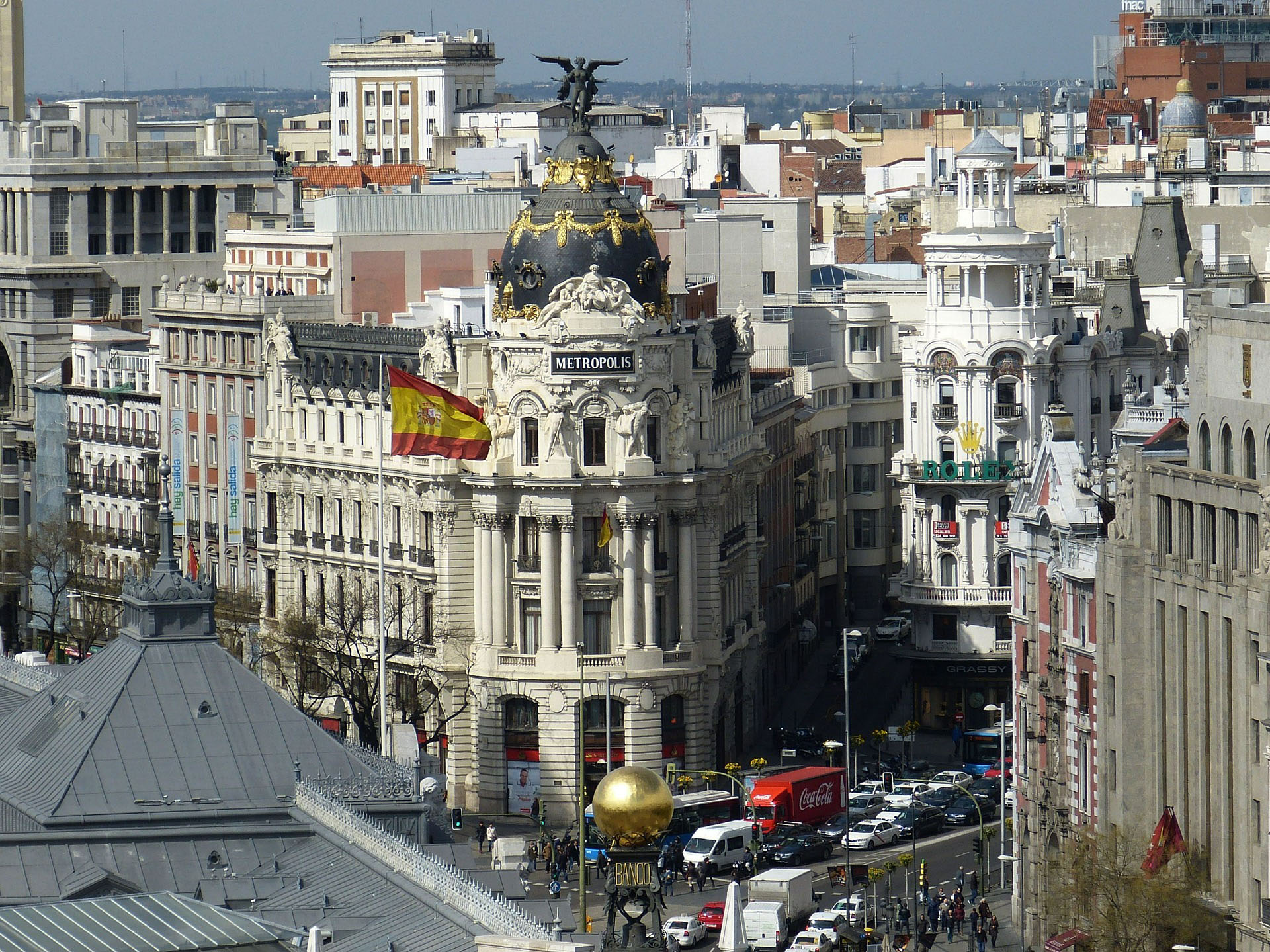 MADRID FROM  THE ROOFTOPS