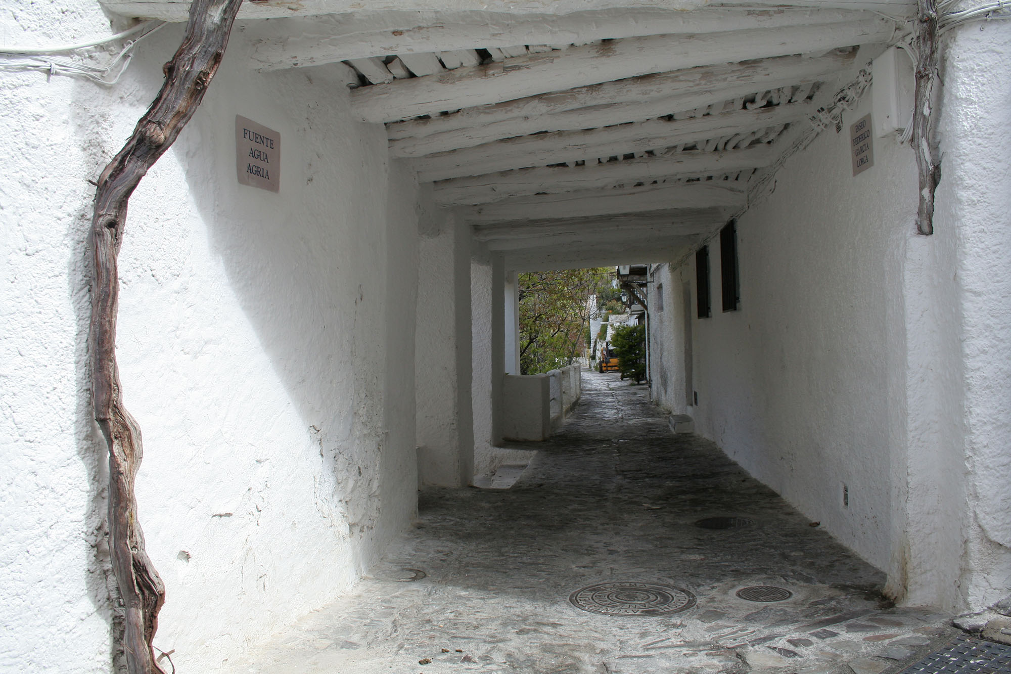 THE ALPUJARRAS. DEEP INTO WHITE-WASHED VILLAGES